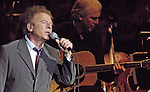 Art Garfunkel performs with the Huntsville Symphony at the Von Braun Center Concert Hall.  Bob Gathany photo.