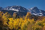 San Juan Mountains above East Dallas Creek, Colorado