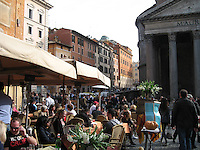 The Pantheon & The Piazza - Rome