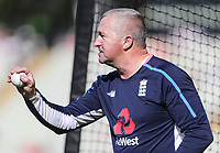 England coach Paul Farbrace<br /> <br /> Photographer Andrew Kearns/CameraSport<br /> <br /> Only IT20 - Vitality IT20 Series - England v Australia - Wednesday 27th June 2018 - Edgbaston - Birmingham<br /> <br /> World Copyright &copy; 2018 CameraSport. All rights reserved. 43 Linden Ave. Countesthorpe. Leicester. England. LE8 5PG - Tel: +44 (0) 116 277 4147 - admin@camerasport.com - www.camerasport.com