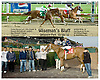 Wiseman's Bluff winning at Delaware Park on 10/30/10