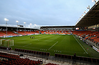 A general view of Bloomfield Road, home of Blackpool<br /> <br /> Photographer Alex Dodd/CameraSport<br /> <br /> EFL Leasing.com Trophy - Northern Section - Group G - Blackpool v Morecambe - Tuesday 3rd September 2019 - Bloomfield Road - Blackpool<br />  <br /> World Copyright © 2018 CameraSport. All rights reserved. 43 Linden Ave. Countesthorpe. Leicester. England. LE8 5PG - Tel: +44 (0) 116 277 4147 - admin@camerasport.com - www.camerasport.com