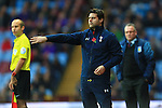 Mauricio Pochettino, Tottenham's Manager - Aston Villa vs. Tottenham Hotspurs - Barclay's Premier League - Villa Park - Birmingham - 02/11/2014 Pic Philip Oldham/Sportimage