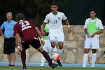 14 August 2015: North Carolina's David October (ENG). The University of North Carolina Tar Heels hosted the Winthrop University Eagles at Fetzer Field in Chapel Hill, NC in a 2015 NCAA Division I Men's Soccer preseason exhibition. North Carolina won the game 4-1.