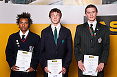 Boys Wrestling finalists Sonid Tim, Rhudi Redelinghuys & Dillon Third. ASB College Sport Auckland Secondary School Young Sports Person of the Year Awards held at Eden Park on Thursday 12th of September 2009.