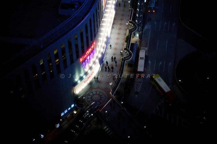 Tokyo, march 2012 - View over Shinjuku by night.