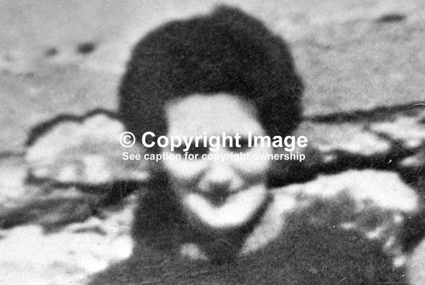 Rose McLaughlin, 52 years, Londonderry, Co Londonderry, N Ireland, UK, was one of 9 fatalities when 3 bombs exploded at intervals without warning in the village of Claudy on 31st July 1972. 197605110254, 254/76..Copyright Image from Victor Patterson, 54 Dorchester Park, Belfast, UK, BT9 6RJ..Tel: +44 28 9066 1296.Mob: +44 7802 353836.Voicemail +44 20 8816 7153.Skype: victorpattersonbelfast.Email: victorpatterson@me.com.Email: victorpatterson@ireland.com (back-up)..IMPORTANT: If you wish to use this image or any other of my images please go to www.victorpatterson.com and click on the Terms & Conditions. Then contact me by email or phone with the reference number(s) of the image(s) concerned.