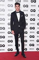 LONDON, UK. September 05, 2018: Isaac Carew at the GQ Men of the Year Awards 2018 at the Tate Modern, London