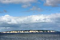 Kreidek&uuml;ste der Insel M&oslash;n, Vordingborg Kommune, D&auml;nemark<br /> Chalk cliffs of isle of Moen, Vordingborg municipality, Denmark