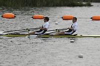 Reading, GREAT BRITAIN, M2X left Steve ROWBOTHAM and Matt WELLS, GB Rowing 2007 FISA World Cup Team Announcement, at the GB Training centre, Caversham, England on Thur. 26.04.2007  [Photo, Peter Spurrier/Intersport-images]..... , Rowing course: GB Rowing Training Complex, Redgrave Pinsent Lake, Caversham, Reading