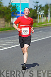 Michael O'Regan pictured at the Rose of Tralee International 10k Race in Tralee on Sunday.