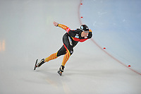 SCHAATSEN: HAMAR: Vikingskipet, 11-01-2014, Essent ISU European Championship Allround, 500m Ladies, Claudia Pechstein (GER), ©foto Martin de Jong