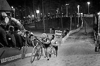 Christine 'Peanut' Vardaros (USA/Stevens)<br /> <br /> Zilvermeercross 2014