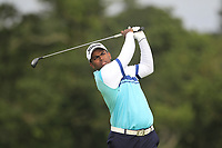 Rayhan John Thomas of Team India on the 6th tee during Round 3 of the WATC 2018 - Eisenhower Trophy at Carton House, Maynooth, Co. Kildare on Friday 7th September 2018.<br /> Picture:  Thos Caffrey / www.golffile.ie<br /> <br /> All photo usage must carry mandatory copyright credit (&copy; Golffile | Thos Caffrey)