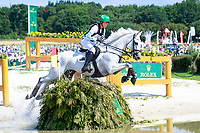 AUS-Isabel English rides Feldale Mouse during the DHL-Preis CICO3* Teilprüfung Cross Country. 2017 GER-CHIO Aachen Weltfest des Pferdesports. Saturday 22 July. Copyright Photo: Libby Law Photography