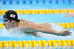 Daiya Seto (JPN), <br /> AUGUST 19, 2018 - Swimming : <br /> Men's 200m Butterfly Heat <br /> at Gelora Bung Karno Aquatic Center <br /> during the 2018 Jakarta Palembang Asian Games <br /> in Jakarta, Indonesia. <br /> (Photo by Naoki Nishimura/AFLO SPORT)