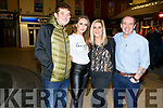 Maurice Fealey, Laura and Lorraine O'Rourke and Patsy Cotter enjoying New Years Eve in Tralee.