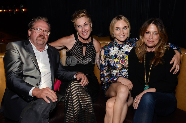 WEST HOLLYWOOD, CA - JULY 7: Diane Kruger and guests attend the Season 2 Premiere party for The Bridge, presented by FX, Shine America, and FXP at the 1 Oak on July 6, 2014 in West Hollywood, California. . Credit: PGWise/MediaPunch