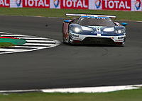 Andy Priaulx (GBR), Harry Tincknell (GBR), Tony Kanaan (BRA) of FORD CHIP GANASSI TEAM UK (USA) during the 2018 Silverstone - FIA World Endurance Championship at Silverstone Circuit, Towcester, England on 17 August 2018. Photo by Vince  Mignott.