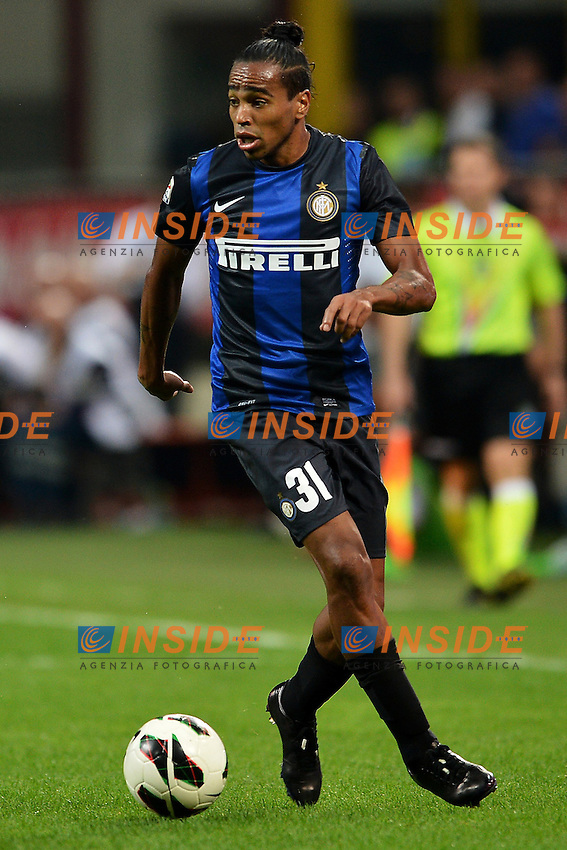 "Alvaro Pereira Inter.Milano 02/9/2012 Stadio ""Giuseppe Meazza San Siro"".Football Calcio 2012/2013 Serie A.Inter Vs Roma.Foto Andrea Staccioli Insidefoto"
