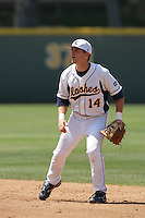 June 5, 2010: Evan Campbell of Kent State during NCAA Regional game against UC Irvine at Jackie Robinson Stadium in Los Angeles,CA.  Photo by Larry Goren/Four Seam Images