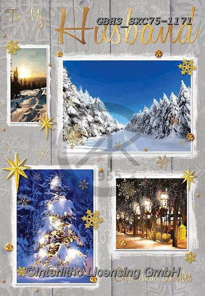 John, CHRISTMAS LANDSCAPES, WEIHNACHTEN WINTERLANDSCHAFTEN, NAVIDAD PAISAJES DE INVIERNO, paintings+++++,GBHSSXC75-1171,#xl#