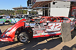 Feb 17, 2014; 4:40:31 PM;  Barberville, FL, USA;  World of Outlaws Late Model Series for 43rd Annual DIRTcar Nationals presented by Summit Racing Equipment at Volusia Speedway Park.  Mandatory Credit: (thesportswire.net)
