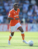 Blackpool's Nathan Delfouneso<br /> <br /> Photographer Kevin Barnes/CameraSport<br /> <br /> The EFL Sky Bet League One - Wycombe Wanderers v Blackpool - Saturday 4th August 2018 - Adams Park - Wycombe<br /> <br /> World Copyright &copy; 2018 CameraSport. All rights reserved. 43 Linden Ave. Countesthorpe. Leicester. England. LE8 5PG - Tel: +44 (0) 116 277 4147 - admin@camerasport.com - www.camerasport.com