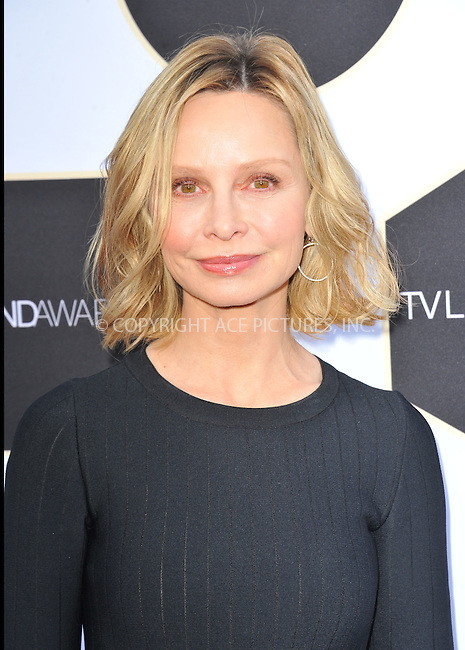 WWW.ACEPIXS.COM<br /> <br /> April 11 2015, LA<br /> <br /> Actress Calista Flockhart attends the 2015 TV LAND Awards at Saban Theatre on April 11, 2015 in Beverly Hills, California. <br /> <br /> By Line: Peter West/ACE Pictures<br /> <br /> <br /> ACE Pictures, Inc.<br /> tel: 646 769 0430<br /> Email: info@acepixs.com<br /> www.acepixs.com