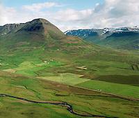 Enni, séð til suðvesturs, Hofshreppur / Enni, viewing southwest, Hofshreppur