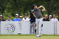 Jordan Spieth (USA) tees off the 3rd tee during Sunday's Final Round of the WGC Bridgestone Invitational 2017 held at Firestone Country Club, Akron, USA. 6th August 2017.<br /> Picture: Eoin Clarke | Golffile<br /> <br /> <br /> All photos usage must carry mandatory copyright credit (&copy; Golffile | Eoin Clarke)