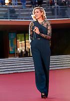 Lily Costner sul red carpet del Festival Internazionale del Film di Roma, 24 ottobre 2014.<br /> Lily Costner poses on the red carpet of the international Rome Film Festival at Rome's Auditorium, 24 October 2014.<br /> UPDATE IMAGES PRESS/Riccardo De Luca