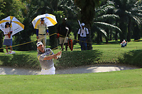 Keith Horne (RSA) in action on the 18th during Round 1 of the Maybank Championship at the Saujana Golf and Country Club in Kuala Lumpur on Thursday 1st February 2018.<br /> Picture:  Thos Caffrey / www.golffile.ie<br /> <br /> All photo usage must carry mandatory copyright credit (© Golffile | Thos Caffrey)