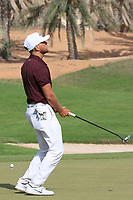 Oscar Lengden (SWE) in action during round 3, Ras Al Khaimah Challenge Tour Grand Final played at Al Hamra Golf Club, Ras Al Khaimah, UAE. 02/11/2018<br /> Picture: Golffile | Phil Inglis<br /> <br /> All photo usage must carry mandatory copyright credit (&copy; Golffile | Phil Inglis)