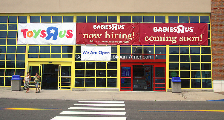 WATERBURY CT.-09  JULY 2010-070910DA01-ToysRUs has confirmed it will remodel its Waterbury store to include a BabiesRUs outlet within the existing toy store.