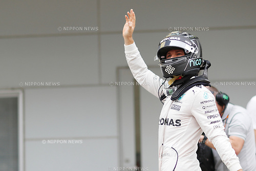 Nico Rosberg (GER), <br /> OCTOBER 8, 2016 - F1 : Japanese Formula One Grand Prix Qualifying <br /> at Suzuka Circuit in Suzuka, Japan. (Photo by Sho Tamura/AFLO SPORT) GERMANY OUT