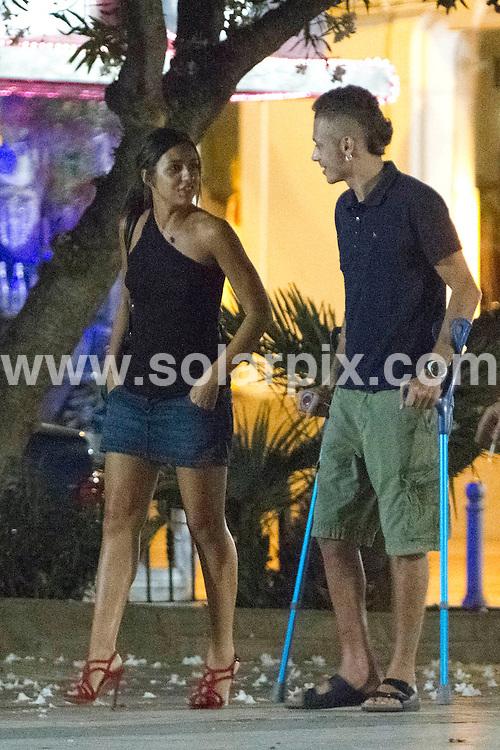 Valentino Rossi on holiday in Ibiza | Solarpix SL Marbella Spain- CIF B92293133