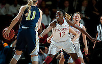 STANFORD, CA - MARCH 19, 2011:  Chiney Ogwumike at Maples Pavilion, March 19, 2010 in Stanford, California.