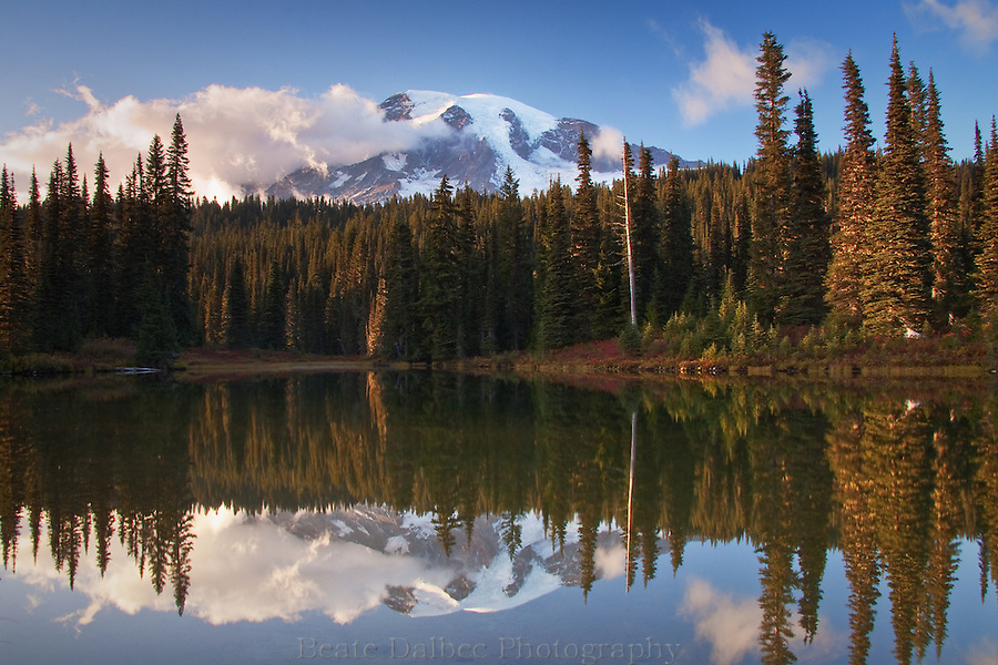 Mt. Rainier at Reflection Lake
