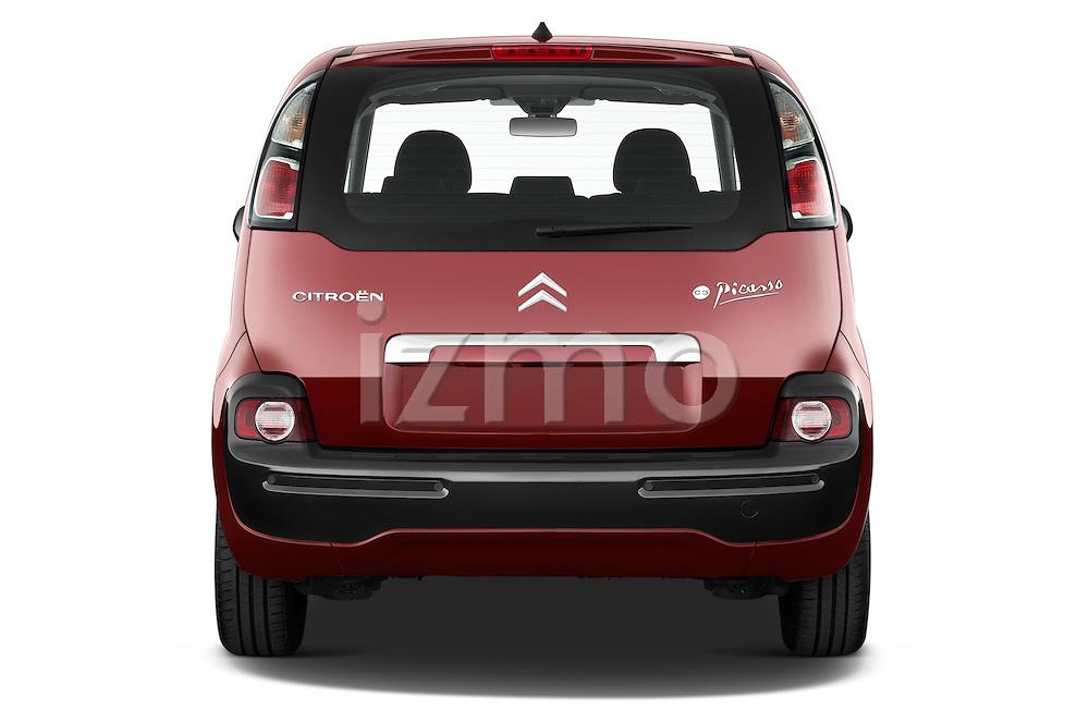 Straight rear view of a 2012 Citroen C3 PICASSO Millenium 5 Door Mini Mpv 2WD
