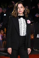 "LONDON, UK. October 08, 2019: Ana de Armas arriving for the ""Knives Out"" screening as part of the London Film Festival 2019 at the Odeon Leicester Square, London.<br /> Picture: Steve Vas/Featureflash"