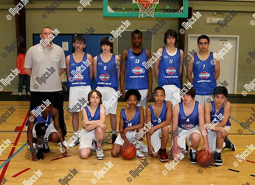 2010-05-13 / Basketbal / seizoen 2009-2010 / Beker van Antwerpen / Pupillen Nieuw Brabo Antwerpen..Foto: mpics