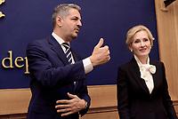 Commissione Italia-Russia, Simone Baldelli e Irina Yarovaya
