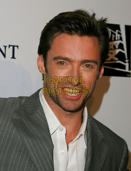 HUGH JACKMAN.Chairman & CEO Tom Rothman at the Annual Stars 2006 Benefit Gala held at the Beverly Hilton Hotel, Beverly Hills, California, USA, 16 October 2006..portrait headshot funny beard.Ref: ADM/CH.www.capitalpictures.com.sales@capitalpictures.com.©Charles Harris/AdMedia/Capital Pictures.