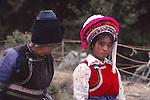 China, Bai women in Dali, Yunnan Province