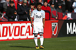 09 April 2016: Vancouver's Cristian Techera (URU). DC United hosted the Vancouver Whitecaps FC at RFK Stadium in Washington, DC in a 2016 Major League Soccer regular season game. DC United won the match 4-0.