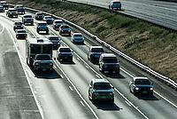 Hiway traffic, Colorado, USA