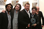Elbow, Best International Act at the meteor Awards 2009...Photo NEWSFILE/Jenny Matthews.(Photo credit should read Jenny Matthews/NEWSFILE)....This Picture has been sent you under the condtions enclosed by:.Newsfile Ltd..The Studio,.Millmount Abbey,.Drogheda,.Co Meath..Ireland..Tel: +353(0)41-9871240.Fax: +353(0)41-9871260.GSM: +353(0)86-2500958.email: pictures@newsfile.ie.www.newsfile.ie.FTP: 193.120.102.198.