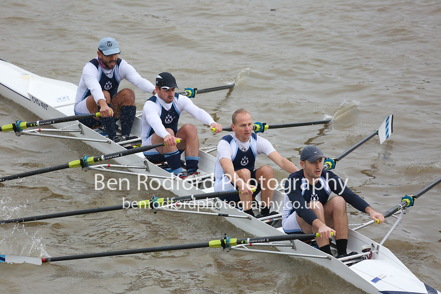 Crew: 5   Cygnet   B 4x<br /> <br /> Veteran Fours Head 2017<br /> <br /> To purchase this photo, or to see pricing information for Prints and Downloads, click the blue 'Add to Cart' button at the top-right of the page.