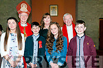 Pupils from Regina O'Connor's class Dromnacrra NS, Causway who were confirmed in Ballyduff Church on Friday last by Bishop Ray Browne. Also in the photo are Fr. Brendan Walsh PP Ballyduff.